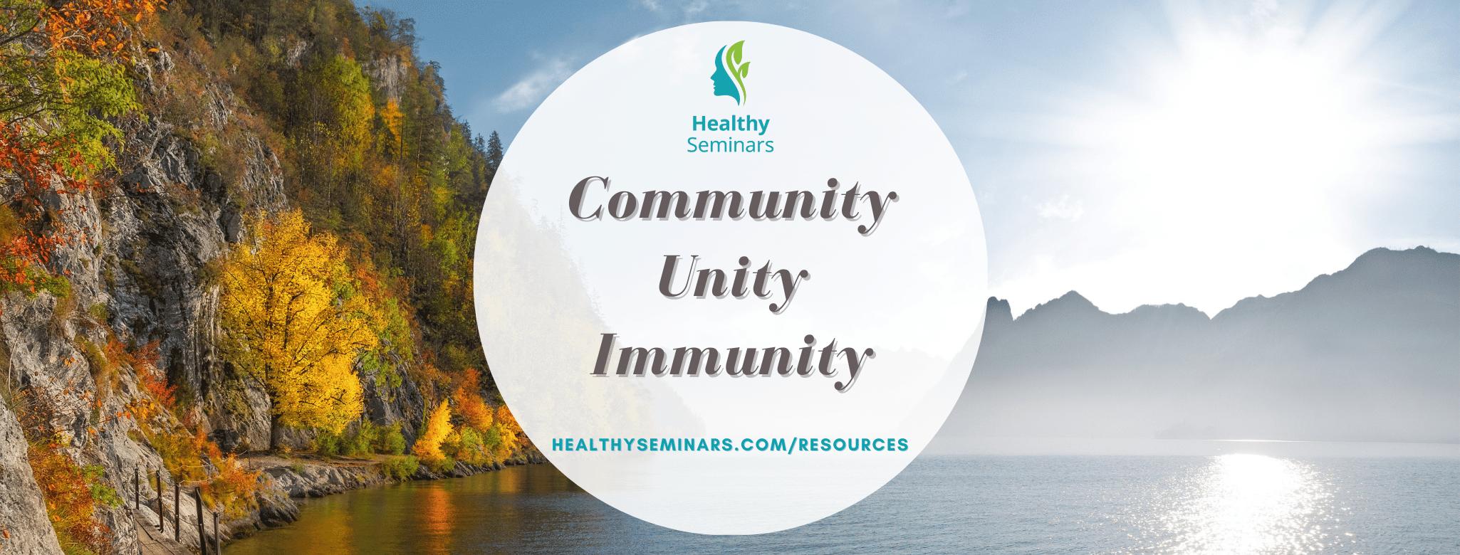 Community Unity Immunity